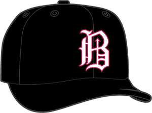 Birmingham Barons  -  New Era 5950 Performance Fabric Ftd. Minor League Low Crown Baseball Cap  Home