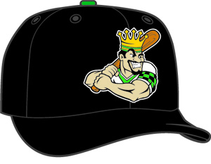 Clinton Lumber Kings  -  New Era 5950 Performance Fabric Ftd. Minor League Low Crown Baseball Cap  Home