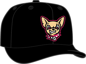 El Paso Chihuahuas  -  New Era 5950 Performance Fabric Ftd. Minor League Low Crown Baseball Cap  Home