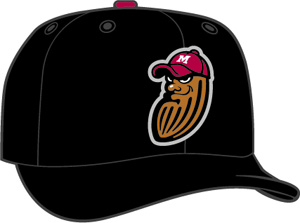 Modesto Nuts  -  New Era 5950 Performance Fabric Ftd. Minor League Low Crown Baseball Cap  Home