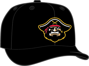 Bradenton Marauders  -  New Era 5950 Performance Fabric Ftd. Minor League Low Crown Baseball Cap  Home