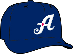 Reno Aces  -  New Era 5950 Performance Fabric Ftd. Minor League Low Crown Baseball Cap  Home