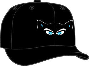 Hudson Valley Renegades  -  New Era 5950 Performance Fabric Ftd. Minor League Low Crown Baseball Cap  Home