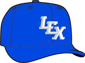 Lexington Legends  -  New Era 5950 Performance Fabric Ftd. Minor League Low Crown Baseball Cap  Home