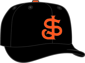 San Jose Giants  -  New Era 5950 Performance Fabric Ftd. Minor League Low Crown Baseball Cap  Home