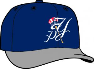 Pulaski Yankees  -  New Era 5950 Performance Fabric Ftd. Minor League Low Crown Baseball Cap  Road