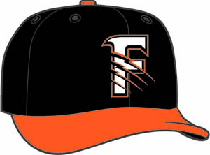 Fresno Grizzlies  -  New Era 5950 Performance Fabric Ftd. Minor League Low Crown Baseball Cap  Alt.