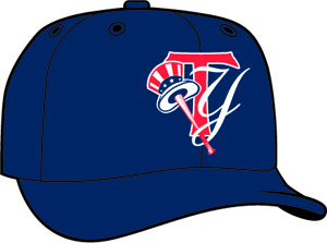 Tampa Yankees  -  New Era 5950 Performance Fabric Ftd. Minor League Low Crown Baseball Cap  Alt.