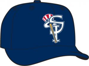 Staten Island Yankees  -  New Era 5950 Performance Fabric Ftd. Minor League Low Crown Baseball Cap  Alt. 1
