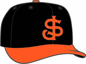 San Jose Giants  -  New Era 5950 Performance Fabric Ftd. Minor League Low Crown Baseball Cap  Alt. 1
