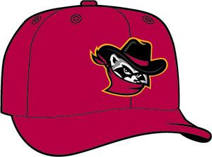 Quad City Bandits  -  New Era 5950 Performance Fabric Ftd. Minor League Low Crown Baseball Cap  Alt. 2