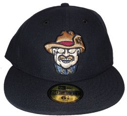 Frisco Roughriders  -  New Era 5950 Performance Fabric Ftd. Minor League Low Crown Baseball Cap  Alt.2