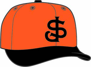 San Jose Giants  -  New Era 5950 Performance Fabric Ftd. Minor League Low Crown Baseball Cap  Alt. 2