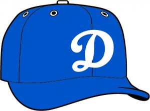 Oklahoma City Dodgers  -  New Era 5950 Performance Fabric Ftd. Minor League Low Crown Baseball Cap  Alt.2
